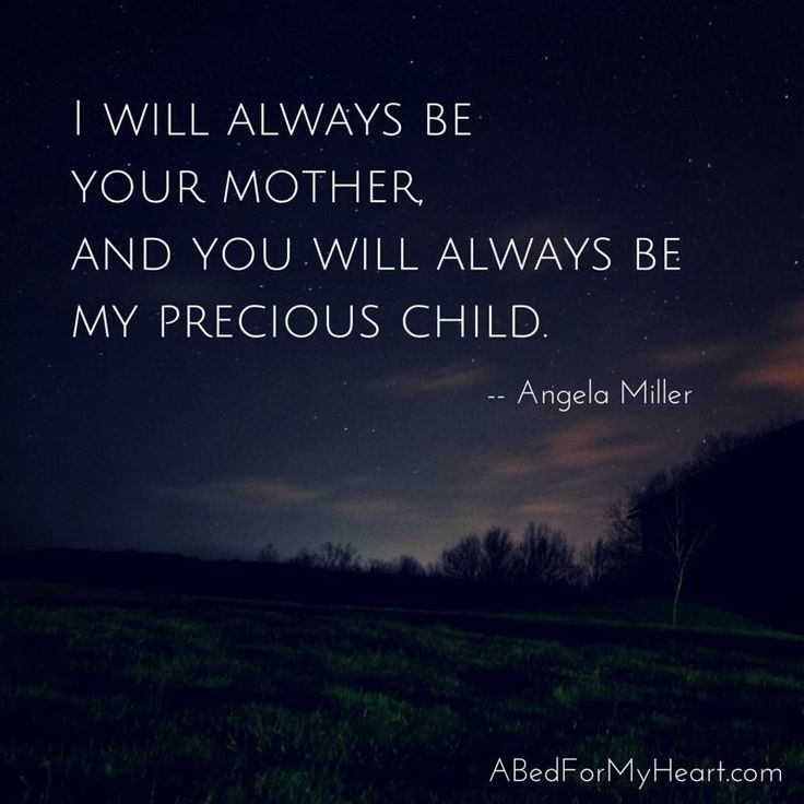 I will always be your MOM, and always love you and miss you untill I take my last breath... 11/7/85 - 6/23/14