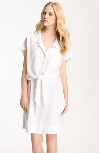 .Silk Dresses, Furstenberg Linnia, Ties Front, Nwt 345, Front Shirtdress, Diane Von Furstenberg, Furstenberg Women, Dresses Linnia, Linnia Shirtdress