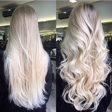 wavy layered hair ideas