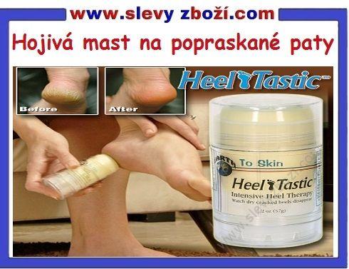 Hojivá mast na popraskané paty Heel Tastic www.slevyzbozi.com