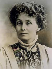 Emmeline Pankhurst was introduced to women's suffrage at the age of eight.  Her husband actively encouraged her political work firstly with Women's franchise League, secondly   with the Independent Labour Party and finally she set up the Women's Social and Political Union, for which she worked tirelessly.