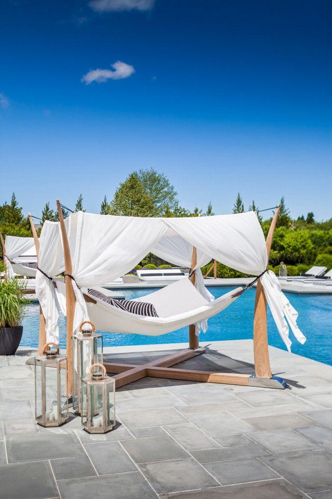 Luxurious pool furniture ideas. | Sofia Joelsson.