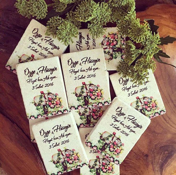 Düğün hediyesi / Wedding gift www.masalsiatolye.com