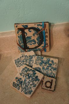 Decorative Tile Coasters Glamorous 41 Best Tilescoastertrivets Images On Pinterest  Tile Coasters Review