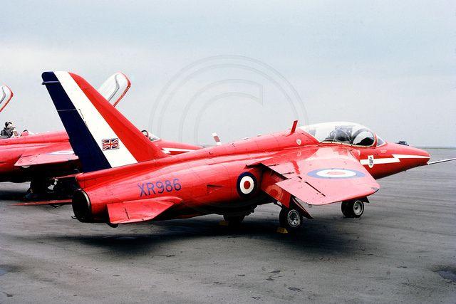 Red Arrows - Folland Gnat T1 - XR986 (1968)