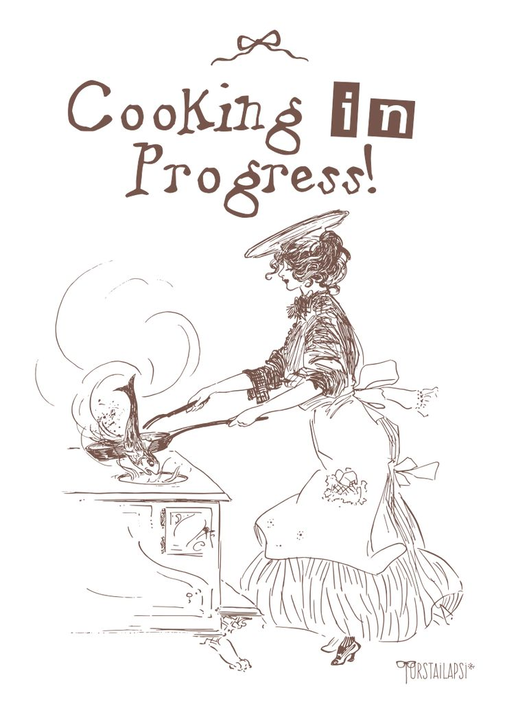 Poster, Cooking