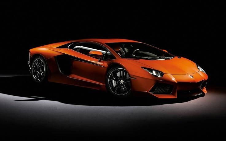 Orange Aventador Sick Car SportsCar
