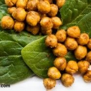 Spicy Roasted Chickpeas and other recipes good for Kapha!