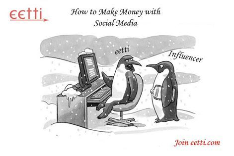eetti Teach You How to Make Money with Social Media Join : http://eetti.com..
