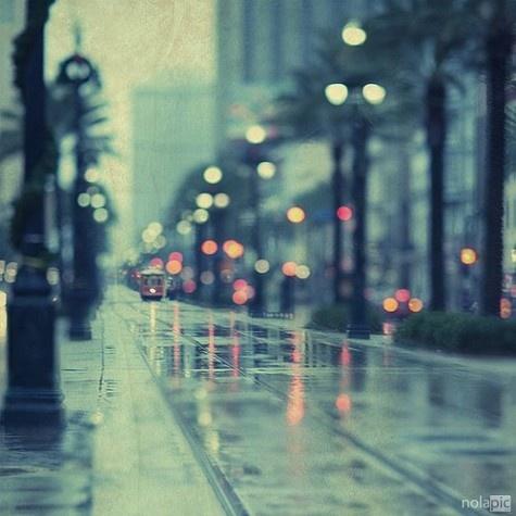 DowntownNew Orleans, Inspiration, Street Looks, Cities Street, Rain Photography, Rainy Days, Street Lights, Neworleans, Cities Lights