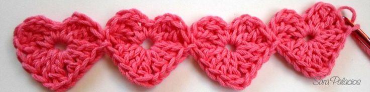 Crochet continuo-Metodo 1