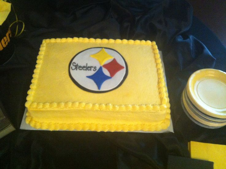Steelers Cake My Cakes Pinterest Cakes Writing And