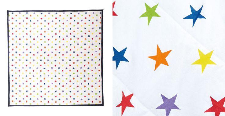 Family Picnic Blanket - Rainbow Star