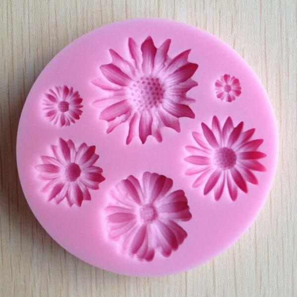 Формы-цветы шоколадные конфеты желе 3D силиконовые формы для выпечки форма мыло Sugarcraft торт инструменты для декорирования