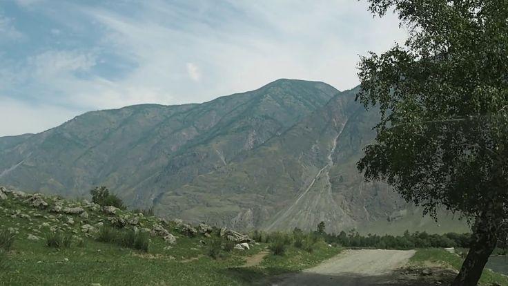В долине реки Чулышман (In the Chulyshman River valley)