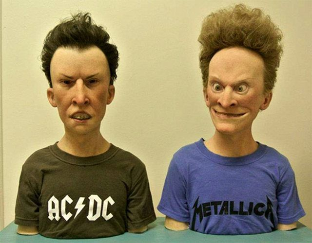 Beavis & Butthead. You Can't Miss This! The 18 Most Famous Cartoon Characters In 3D • Page 2 of 5 • BoredBug