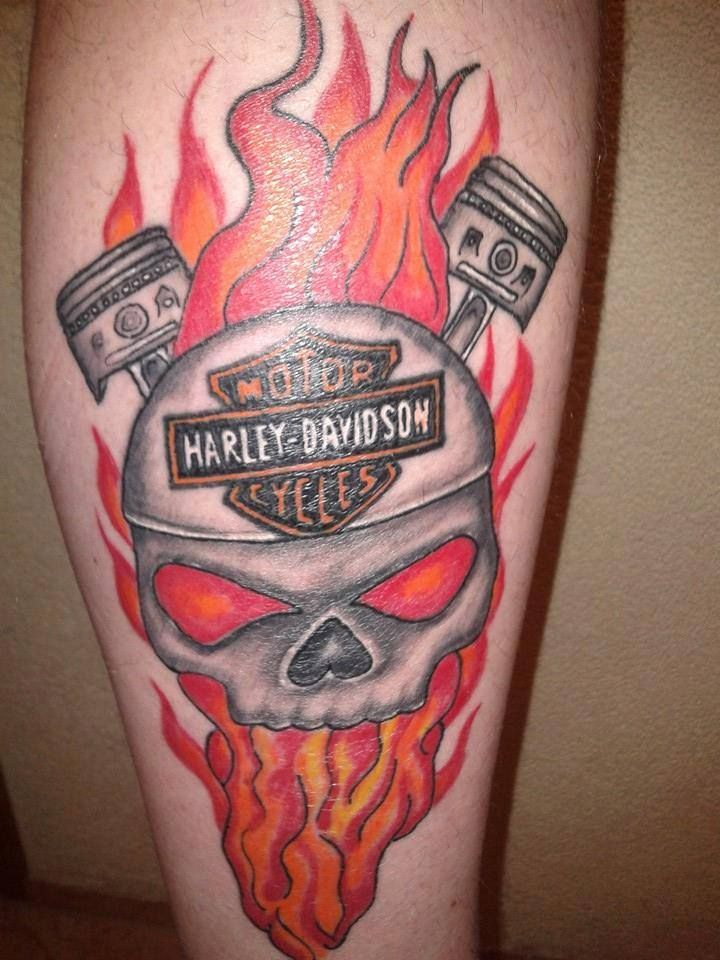 100 harley davidson motorcycle tattoos what pin by for Corpus christi tattoo shops