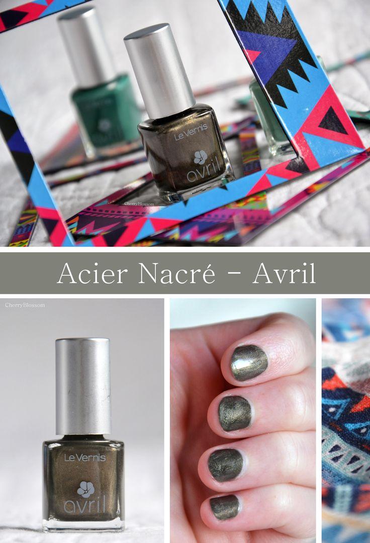 Vernis Acier Nacré - Avril | CherryBlogssom