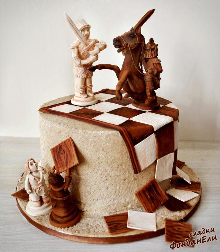 поможет создать торт с шахматами фото случае