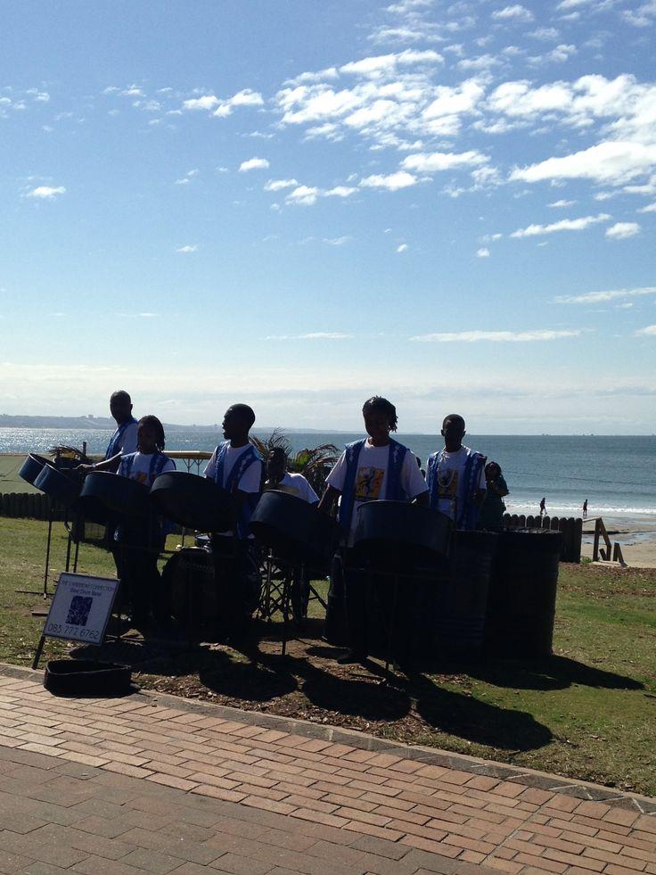 Steel band - Durban beach front SA