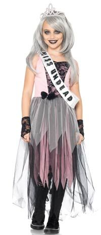 zombie prom queen girls costume zombie costumes - Halloween Princess Costumes For Toddlers