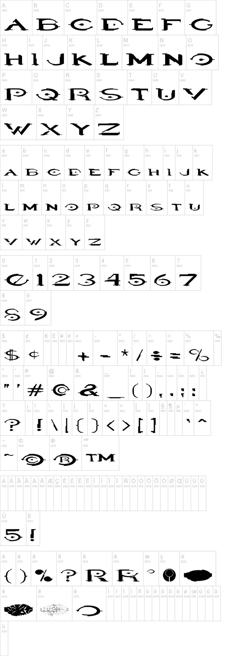 Halo font, representing the sci-fi/angular arcitecture throughout the game.
