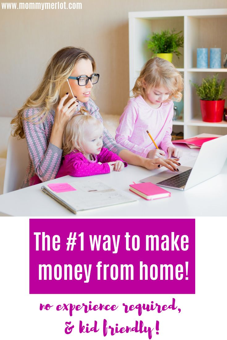 How to make money at home!