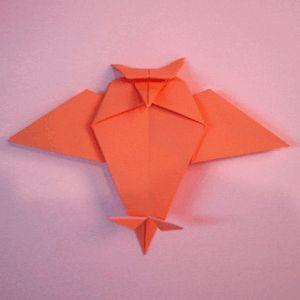 origami gufo
