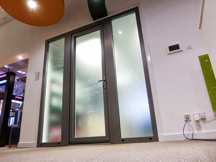 internorm kf200 side entrance door and side screens upvc