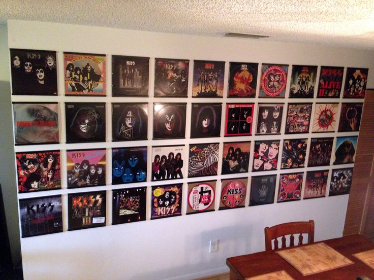 Image result for vinyl records wall