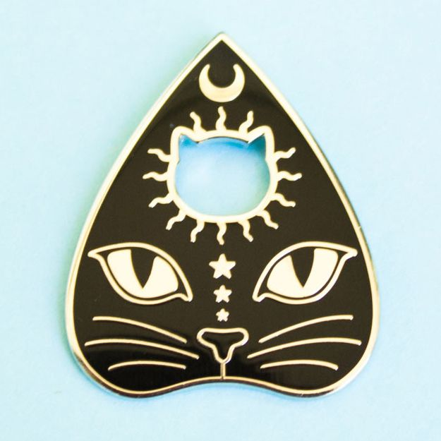 ♥ PREORDER ♥ Planchatte Enamel Pin sold by Bee's Knees Industries. Shop more products from Bee's Knees Industries on Storenvy, the home of independent small businesses all over the world.