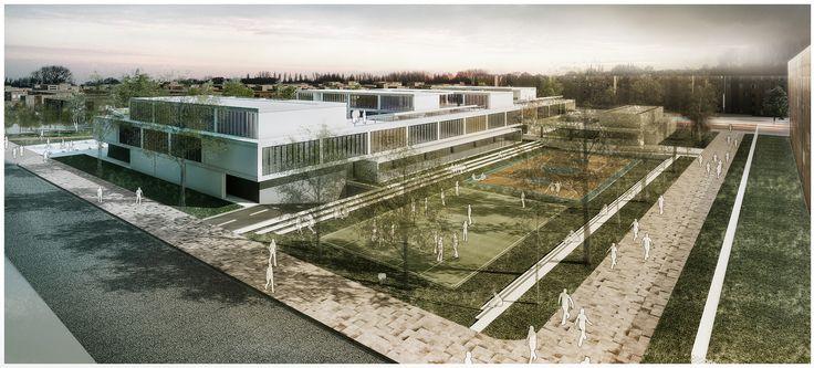 EMS Arquitectos, tercer lugar en concurso Ambientes de Aprendizaje del siglo XXI: Colegio Pradera El Volcán,Cortesía de EMS Arquitectos