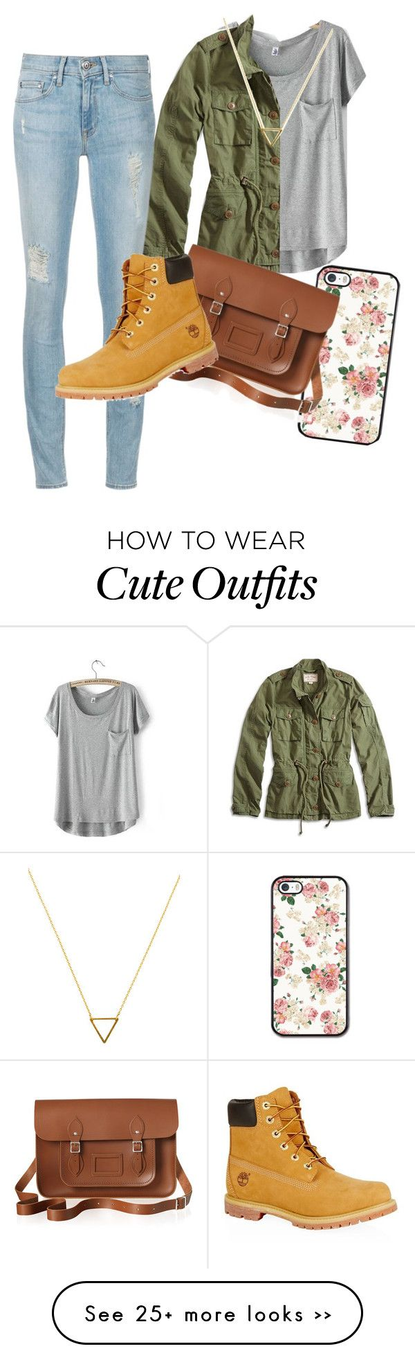 """cute outfit for fall!! (even though its summer!)"" by tmwestover on Polyvore"