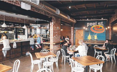 Peel Street - serves dinner on Thursday, Friday and Saturday