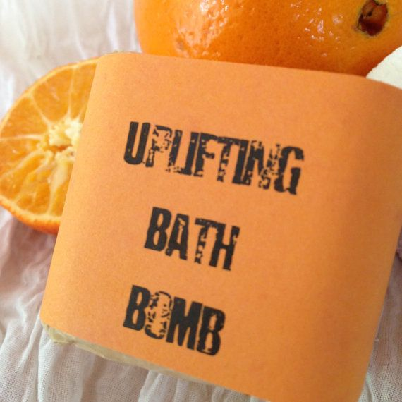 Uplifting Bath Bomb – Revitalizing Spa Treatment – Aromatherapy – Steam Therapy