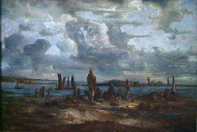 Lars Hertervig, «Vårsildfiske»