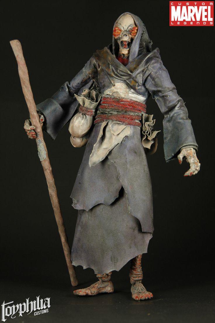 Custom Marvel Legends Arbiters Mikaru The Blind by Toyphilia | eBay
