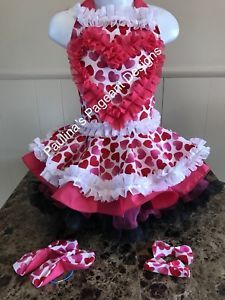 National Pageant Valentine's Day Queen of Hearts Casual Wear 3-5t. OOC  | eBay