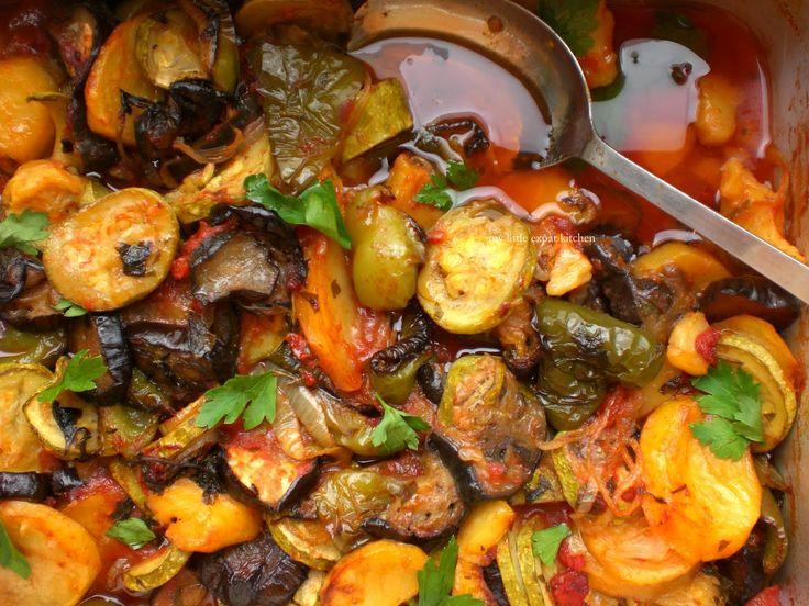 Υπέροχο+Μπριάμ+με+όλες+τις+μυρωδιές+των+μεσογειακών+λαχανικών