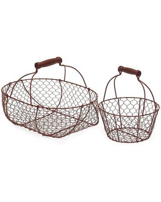 Use these wire baskets to hold all of your knick knacks! Get it here: http://www.bhg.com/shop/imax-imax-2-piece-wire-basket-set-in-red-p5069980582a71c80fe438e45.html?mz=a