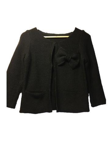 Chaqueta de lana negra de Maje