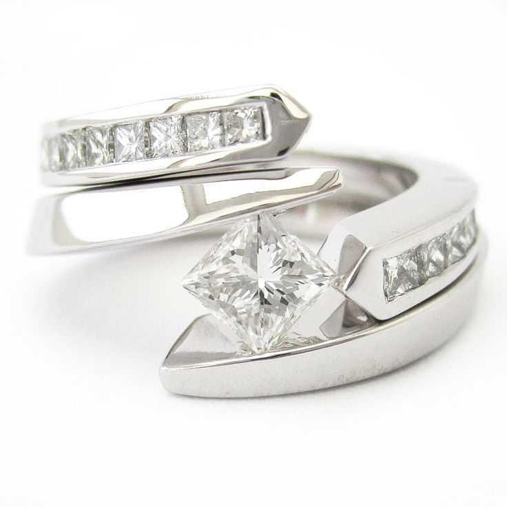 25 best ideas about solitaire rings on black