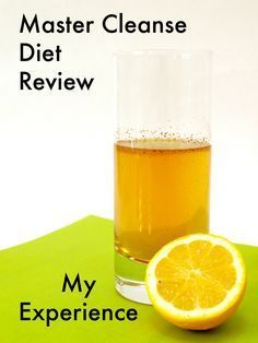 Master Cleanse Diet Review—My Experience and Results