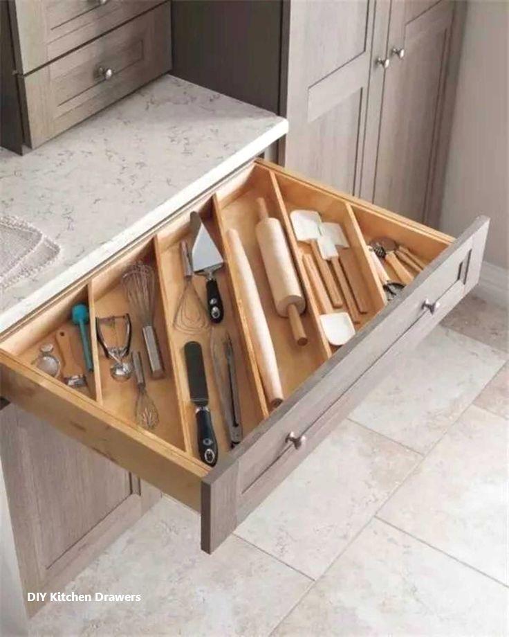Diy Kitchen Drawer Organizer Ideas In 2020 Kitchen Organization Diy Kitchen Remodel Small Diy Kitchen Storage