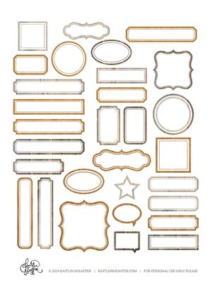 Label Series // Woodgrain