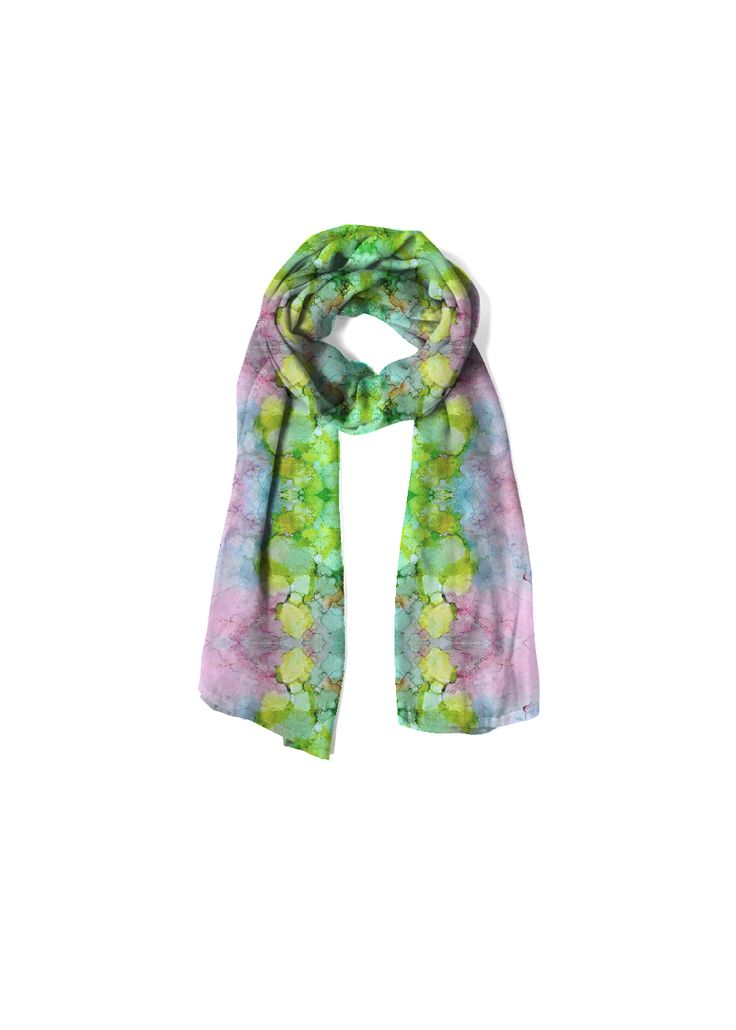 Cashmere Modal Scarf - moment of the haos-4 by VIDA VIDA j6FATc