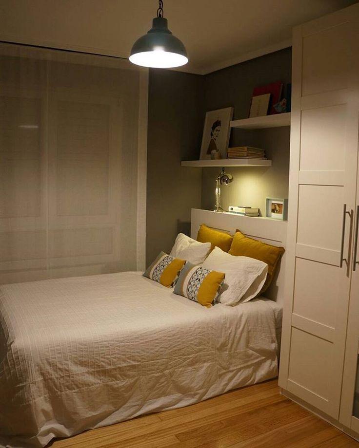 Terminada... Del todo! Ahora... A descansar!  #Bedroom #Ikea #Brimnes #Bergsbo #Lack