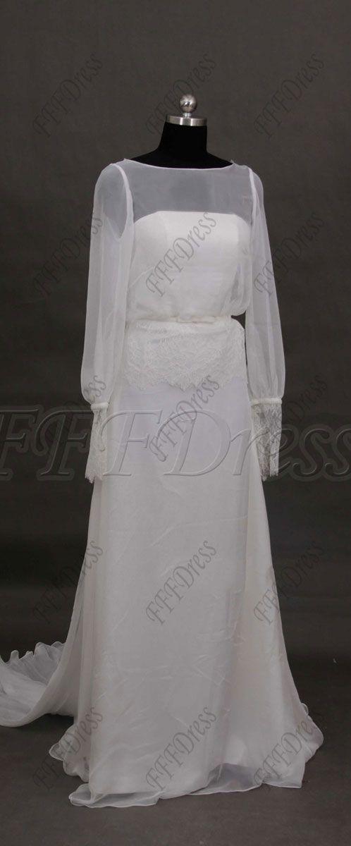 27 best beach wedding dresses fffdress images on pinterest for Grecian wedding dress with sleeves