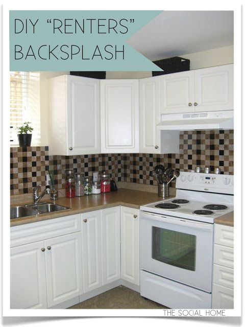Best 25+ Vinyl Tile Backsplash Ideas On Pinterest | Easy Kitchen Updates,  Self Adhesive Backsplash Tiles And Vinyl Backsplash