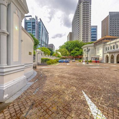 360 Virtual Tour of Chijmes from the Front